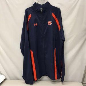 AUBURN UNDER ARMOUR FULL ZIP JACKET